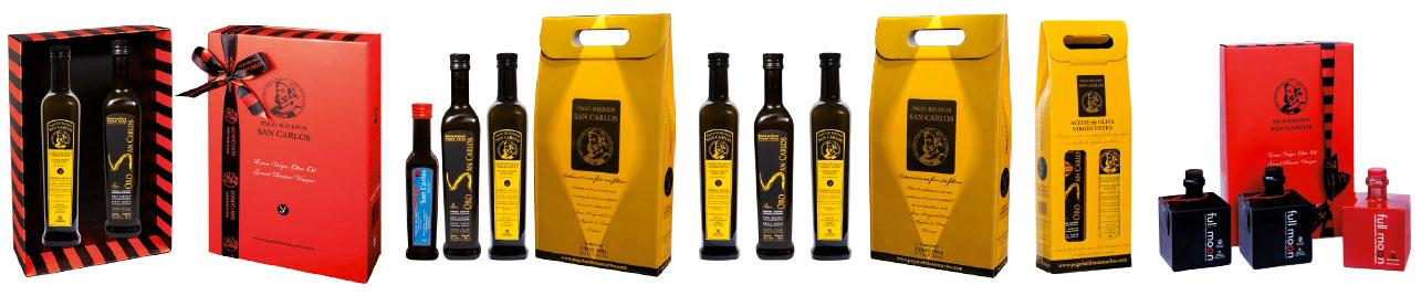 Envases de Regalo de Aceite y Vinagre